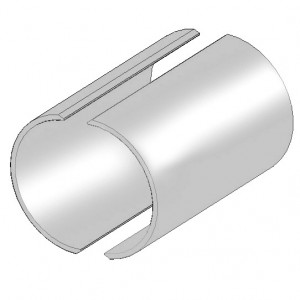JCM 137 Stainless Steel Weld-On Reinforcement Sleeve | JCM Industrial Fittings